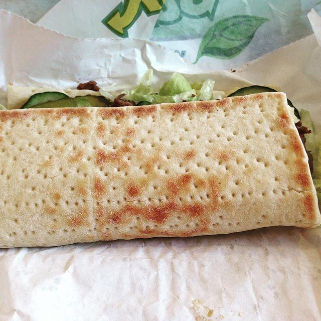 Instagram media acrazylady - Mijn lunch van vandaag. #subway