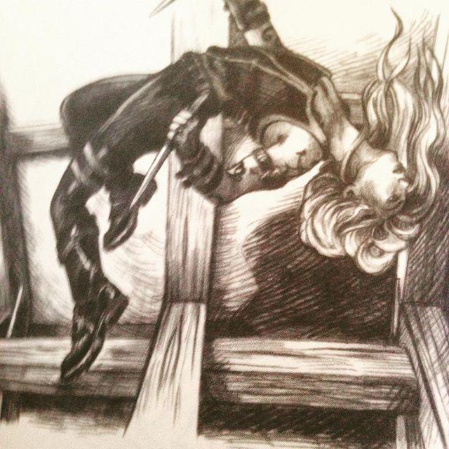 Instagram media acrazylady - #shadowhunterscodex #cassandraclare mooie tekening op pagina 0