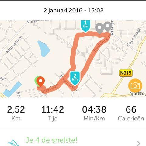 Instagram media acrazylady - De eerste fietstocht van 2016 #runkeeper