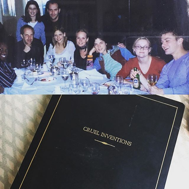 Instagram media sarahmgellar - #throwbackthursday ok one last one because I was feeling nostalgic - and yes #CruelInventions was the original tittle. This pic was 1998 at our kick off dinner #cruelintentions #Crueltv #kathrynmerteuil