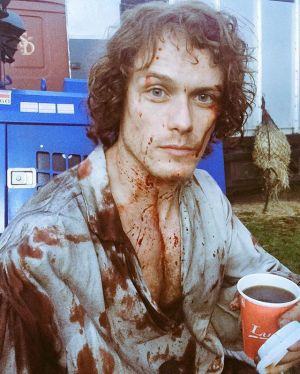 Instagram media samheughan - Dazed and bloody... Ep10