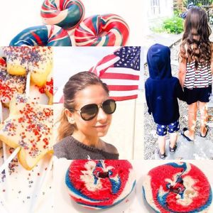 """#fourthofjuly done right. """"May we think of freedom, not as the right to do as we please, but the opportunity to do what is right"""" #happybirthday 🇺🇸💥"""