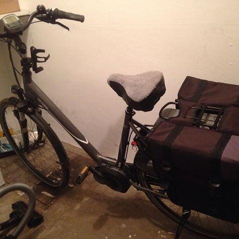 Mijn nieuwe fiets :)