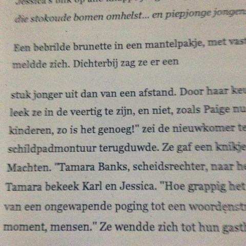 Zelfs in de charmed boeken komt er een #tamara voor #naamgenootje #verregeesten
