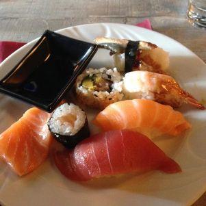 Eten gisteravond ronde 1 sushi