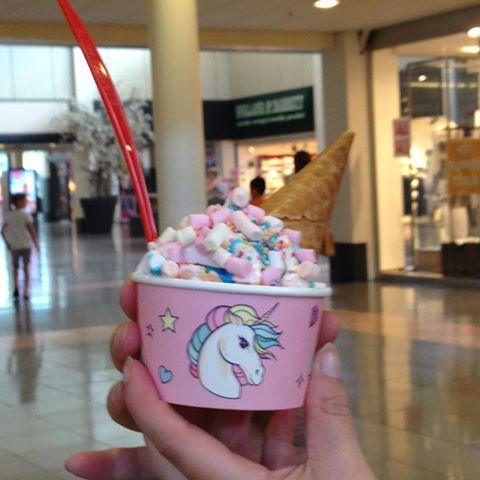 Unicorn ijsje #jamin
