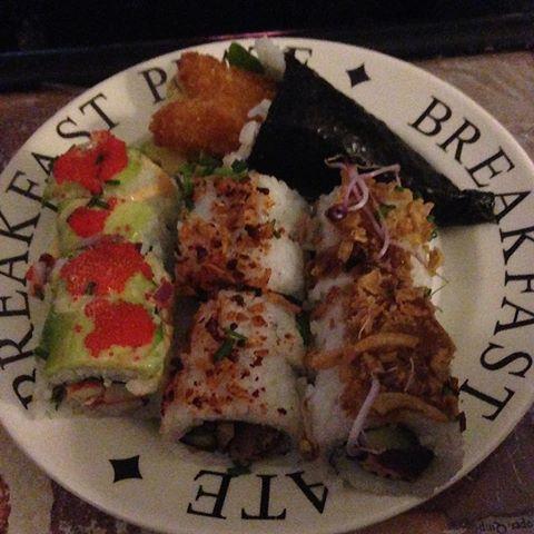 Sushi en harry Potter mijn zondag(avond)