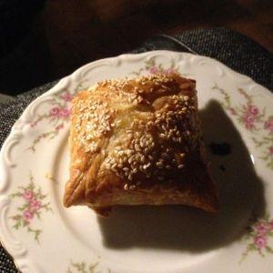 Broodje met gehaktbal gemaakt door mama
