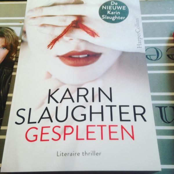 Gekocht om vanmiddag te laten signeren door Karin slaughter. 😻